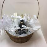 "Custom Gift Baskets Designed for many occasions. 12"" Basket"