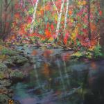 """The Season"" Original Pastel  By Joel R. Wish Image Approximately 14 1/2"" X 18 1/2"" Framed Approximately 20"" X 24"" Framed at $495.00"