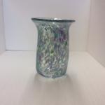 """Hand-Blown Art Glass"" Individually Hand-Crafted by Brick House Glass, unique and signed by artist. Approximately 7"" X 4"" Vase $52.00"